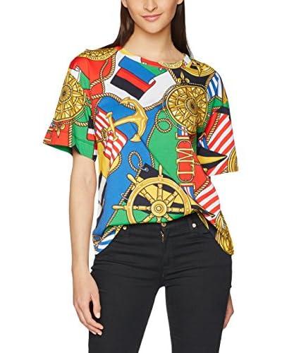 Love Moschino T-Shirt mehrfarbig