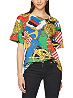 Love Moschino Camiseta Manga Corta (Multicolor)