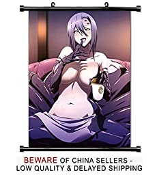 Monster Musume Anime Fabric Wall Scroll Poster (16x23) Inches