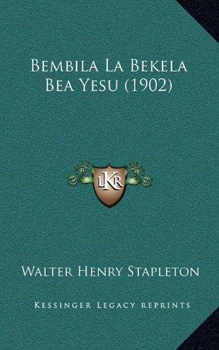 Bembila La Bekela Bea Yesu (1902)
