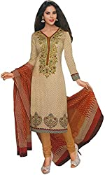 SayShopp Fashion Women's Cotton Printed Dress Material