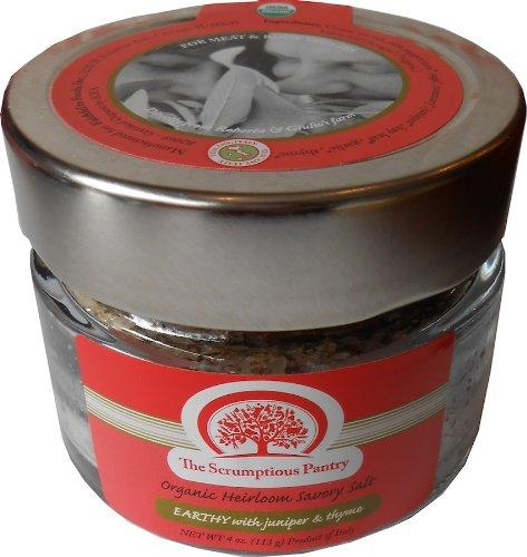 Organic Heirloom Savory Salt Earthy With Juniper & Thyme