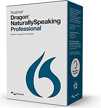 Dragon NaturallySpeaking Professional(A289X-LD7-13.0)