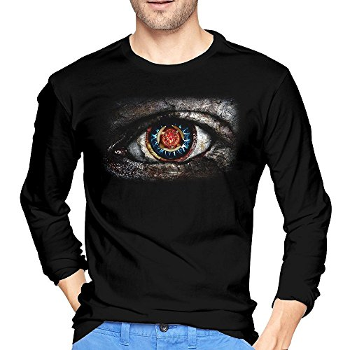 Yrewer Men's Rock Band 2016 TOOL Burnt Amber T-shirts Long Sleeve