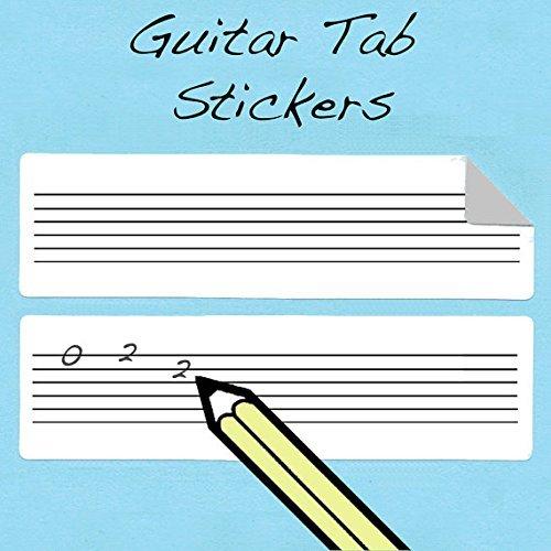 Gitarren-Tabulatur-Griffweise-Wandtattoo-Set-210-Stck-Amazing-Werkzeug-fr-Lehrer-und-Studenten