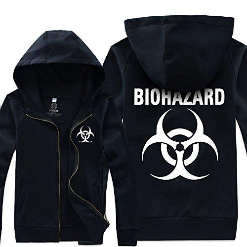 Costume Resident Evil Umbrella Corporation Giacca nera XL