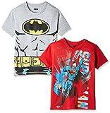 Kidsville Boys' T-Shirt (BM1KB05_Multi_9 - 10 years) Combo Tee