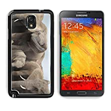 buy Msd Samsung Galaxy Note 3 Aluminum Plate Bumper Snap Case Family Group Of African Elephants In South Africa Image 12165735