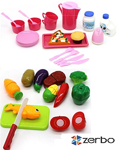 ZERBO-Kids-Chopping-and-Eating-Mini-Play-Set