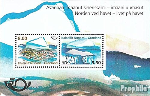 Dänemark-Grönland Block59 (kompl.Ausg.) gestempelt 2012 Leben am Meer (Briefmarken für Sammler)