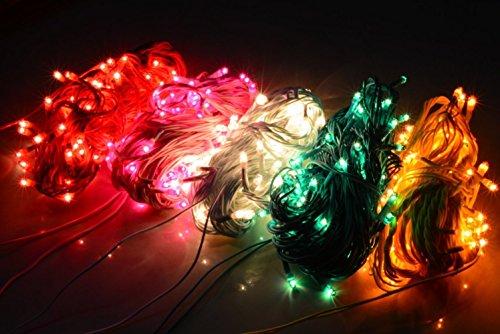ASCENSION Set Of 10 Rice Lights Serial Bulbs Decoration Lighting For Diwali Christmas Lighting