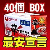 『農心(ノンシム)』辛ラーメン(■BOX 40入)