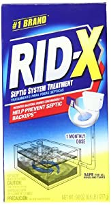 RID-X Septic Tank System Treatment, 1-Dose Powder, 9.8 Ounce