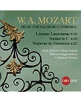 Mozart: Vesperae De Dominica [Edward Higginbottom] [Novum: NCR1388]
