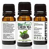 BioFinest Green Tea Oil - 100% Pure Green Tea Essential Oil - Premium Organic - Therapeutic Grade - Best For Aromatherapy - Boost Fat Burning - Anti-oxidant - FREE E-Book (10ml)