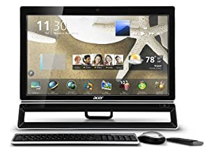 Acer Aspire PW.SHPP2.005 Z3771 21.5-Inch All-in-One Desktop with 2nd Gen. Intel CPU (Black)