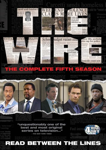 The Wire: Complete HBO Season 5 [DVD]