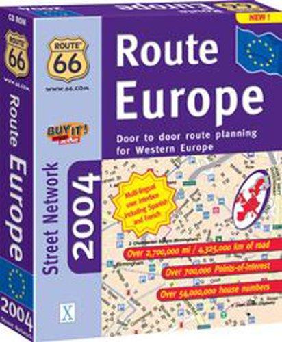 Route 66 Route Europe 2004 MacB00013MTUU
