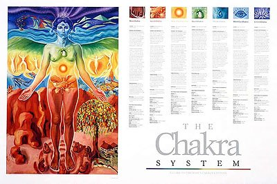 System Posters Chakra System Poster