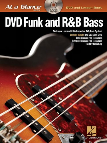 Funk and R&B Bass - At a Glance (DVD and Lesson Book) (At a Glance (Hal Leonard)) bob gates debra fearns jo welch learning disability nursing at a glance