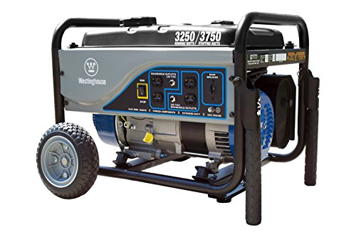 Westinghouse WH3250C CARB Compliant Portable Generator, 3250 Running Watts/3750 Starting Watts, Blue