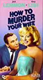 How to Murder Your Wife [VHS]