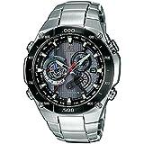Casio - EQW-M1100DB-1AER - Montre Homme - Quartz - Analogique - Bracelet Acier inoxydable Argent