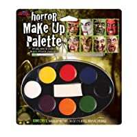 Horror Makeup Palette With 8 Colours - Perfect For Halloween by Fun World
