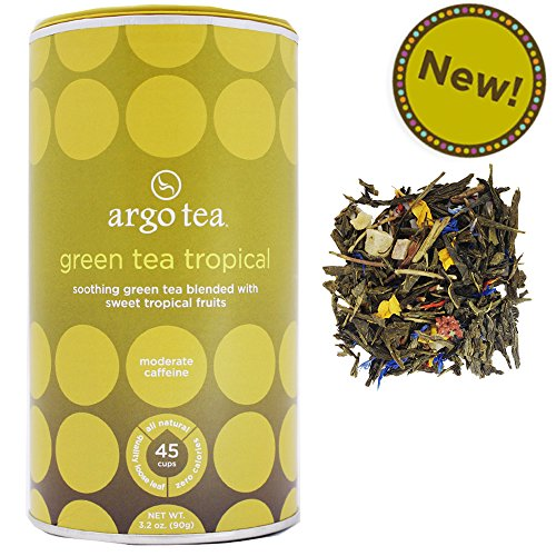 Green Tea Tropical Loose Leaf Tea - 3.2Oz