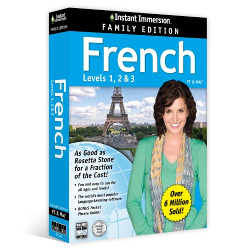 Instant Immersion French Family Edition Levels 1,2,3 front-777417