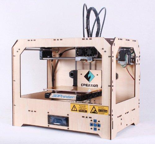 家庭用 CREATOR 3DPrinter ダブルヘッド 3Dプリンター 【販売代理店】