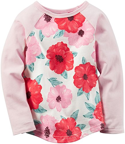 Carter's Girls Knit Fashion Top, Print, 3T