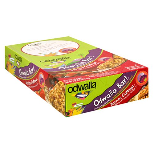 Odwalla Nourishing Food Bar, Berries GoMega, 2.2-Ounce Bars in 12-Count Boxes (Pack of 2) Image