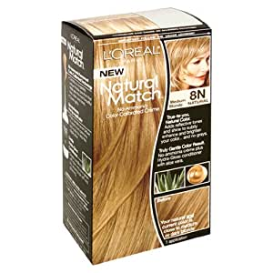 L Oreal Natural Match Hair Color Products