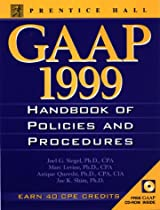 Gaap Handbook of Policies and Procedures, 1999