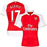 Alexis #17 Arsenal Home Kids Soccer Jersey Kit with Free Shorts Youth Sizes