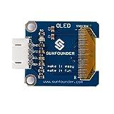 "SunFounder 0.96"" Inch Blue I2C IIC Serial 128x64 OLED LCD LED SSD1306 Module for Arduino Raspberry Pi Display hergestellt von SunFounder"