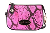 Just Cavalli women's wallet coin case holder purse card pink