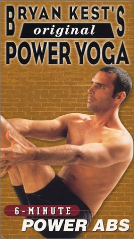 Bryan Kest - Power Yoga 6 Minute Power Abs [VHS] (Power Yoga Bryan Kest compare prices)
