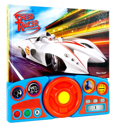 Steering Wheel Sound Book - Speed Racer