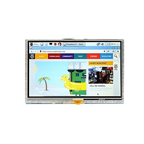 SainSmart-5-inch-LCD-for-Raspberry-Pi-3-2-1-Model-B-A-B-800x480-Touch-LCD-Screen-HDMI-Display-Module-Mini-PC