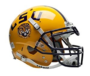 NCAA LSU Tigers Authentic XP Football Helmet by Schutt