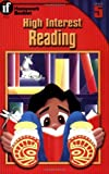 img - for High-Interest Reading Homework Booklet, Grade 5 book / textbook / text book