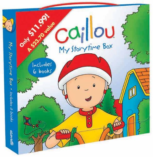 Caillou: My Storytime Box: Boxed Set (Clubhouse)