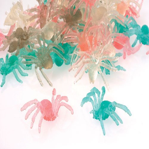 Transparent Spider Toys - 1