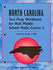"""... larger cover image of """"Holt Middle School Math: Course 2"""" by Bennett"""