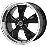 "American Racing Custom Wheels AR105 Torq Thrust M Gloss Black Wheel With Machined Lip (17x8""/5x127mm, 0mm offset)"