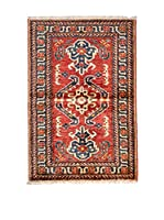 Navaei & Co. Alfombra Kazak Super Rojo/Multicolor 127 x 82 cm