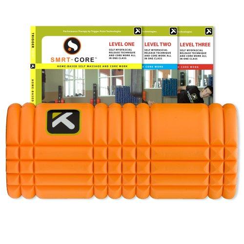 Imagen de Desempeño el punto de activación La Rejilla con rodillo de espuma Revolucionario SMRT-CORE DVD (Orange), color naranja