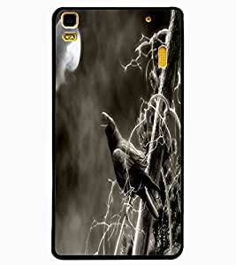 ColourCraft Scary Night Design Back Case Cover for LENOVO A7000 PLUS